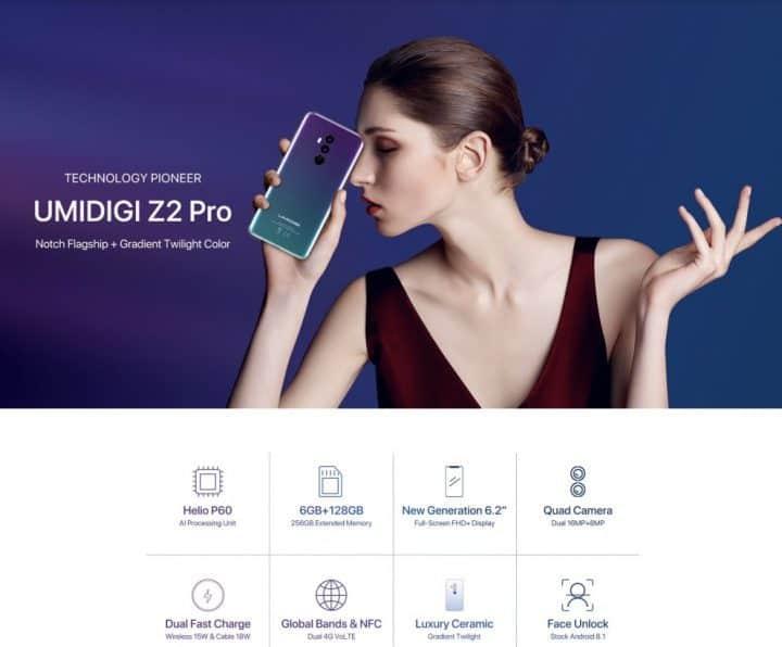 UMIDIGI Z2 PRO comprar barato al precio minimo de oferta con cupón descuento. Con envío GRATIS Libre de aduanas para España.