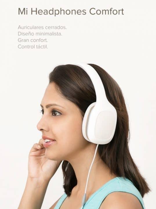 Oferta Xiaomi Mi Headphones Comfort por 29 euros (Oferta FLASH)