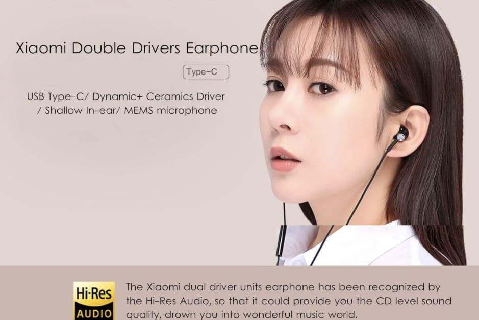 oferta auriculares Xiaomi dual unit