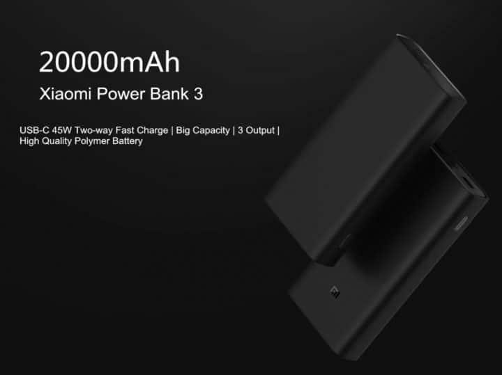 Xiaomi Power Bank 3 PRO de 20.000 mA de oferta por 38 euros (Cupón Descuento)