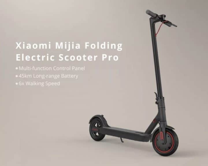 Xiaomi Electric Scooter PRO de oferta por 487 euros (Oferta FLASH)