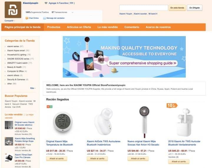 Las mejores ofertas de Xiaomi y accesorios en DHgate, ¿lo conoces?