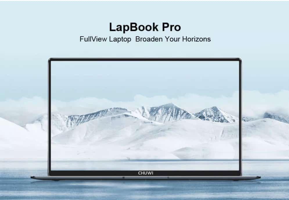 Oferta portátil Chuwi Lapbook Pro por 254 euros (Cupón Descuento)