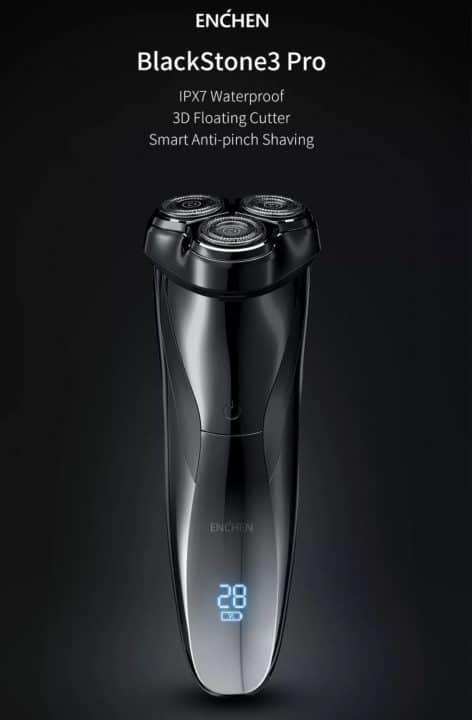 Afeitadora eléctrica Xiaomi Enchen BlackStone 3D Pro de oferta por 15 euros