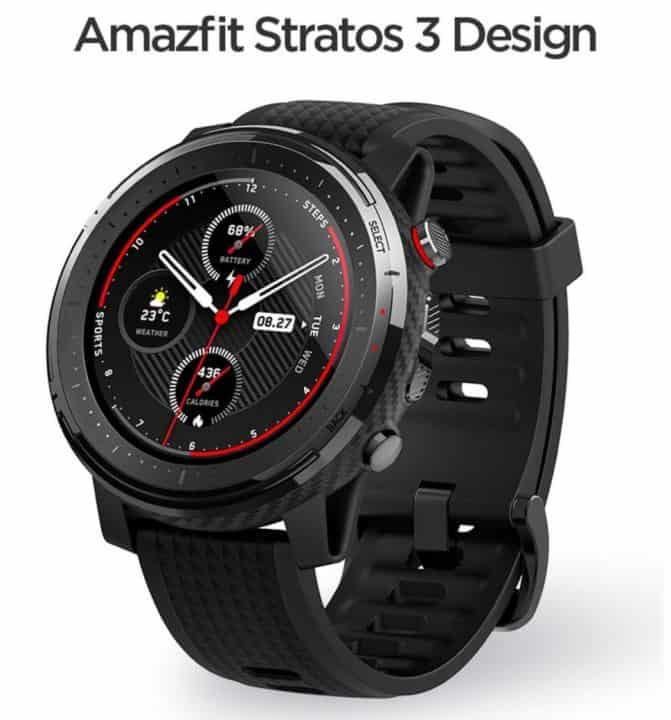 Xiaomi Amazfit Stratos 3 de oferta por 180 euros (Oferta FLASH)