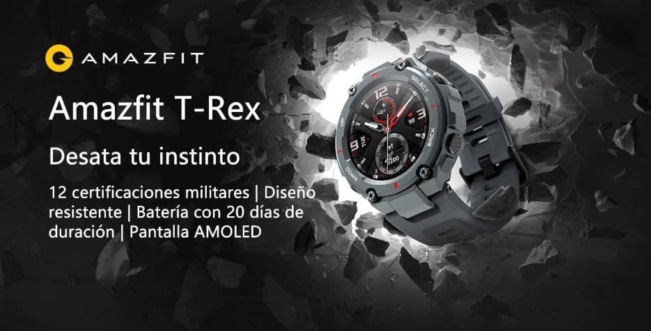 Xiaomi Amazfit T-REX de oferta desde España 2 amazfit t-rex