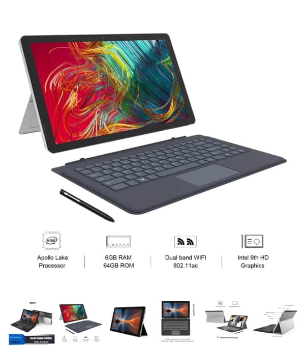 Tablet XIDU Philpad 2 en 1 (tipo Surface) de oferta por 335 euros (Review)