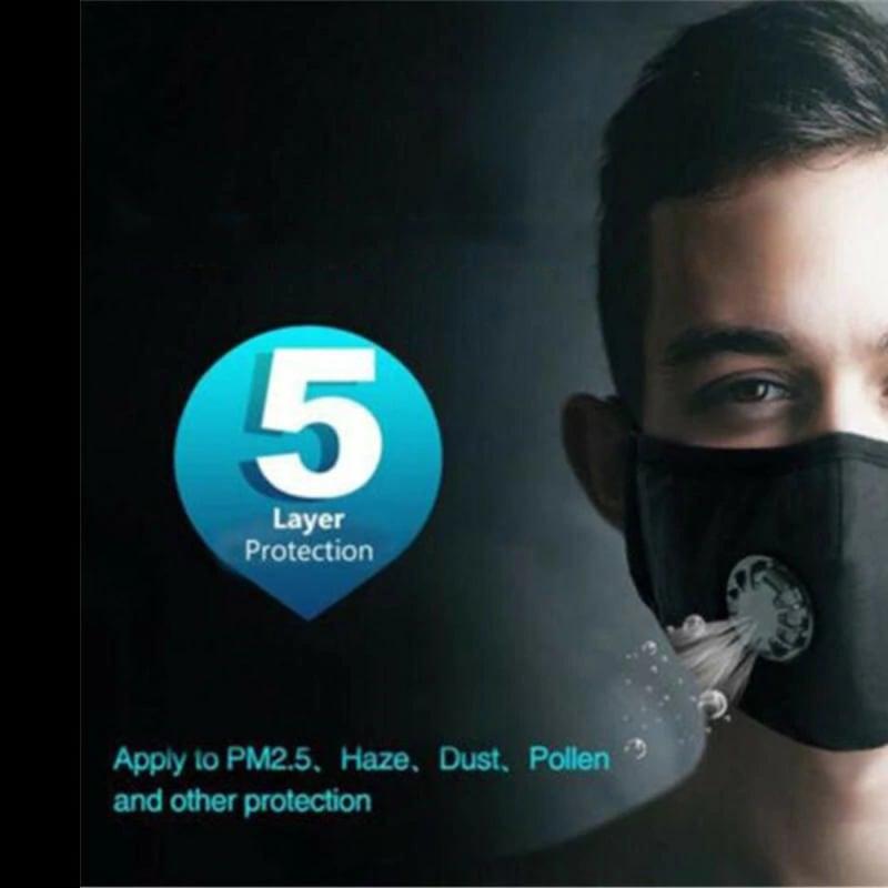 Máscara anti coronavirus N95 FFP2 con filtro por 8 euros desde España 1 mascara anti coronavirus