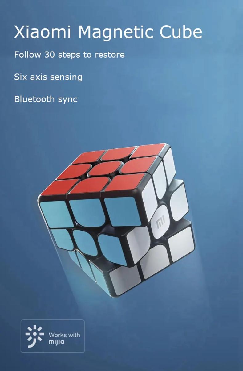 Cubo de Rubik inteligente y magnético Xiaomi por 14 euros (Cupón Descuento) 1