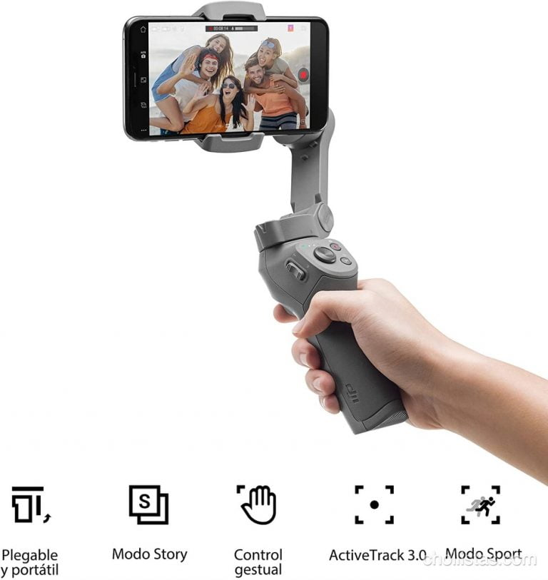 DJI OSMO Mobile 3 de oferta por 97 euros en Amazon