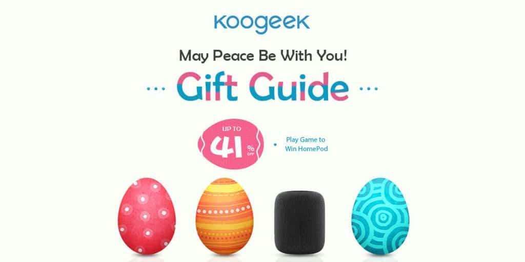 Sorteo: Gana el nuevo Apple HomePod con Koogeek