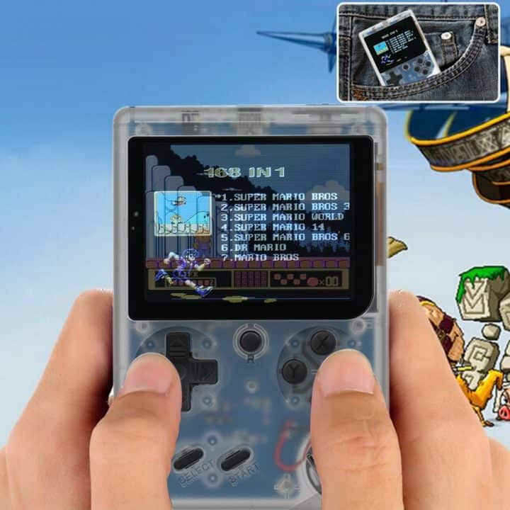 Chollo video consola clon Game Boy por 13 euros (Oferta FLASH)