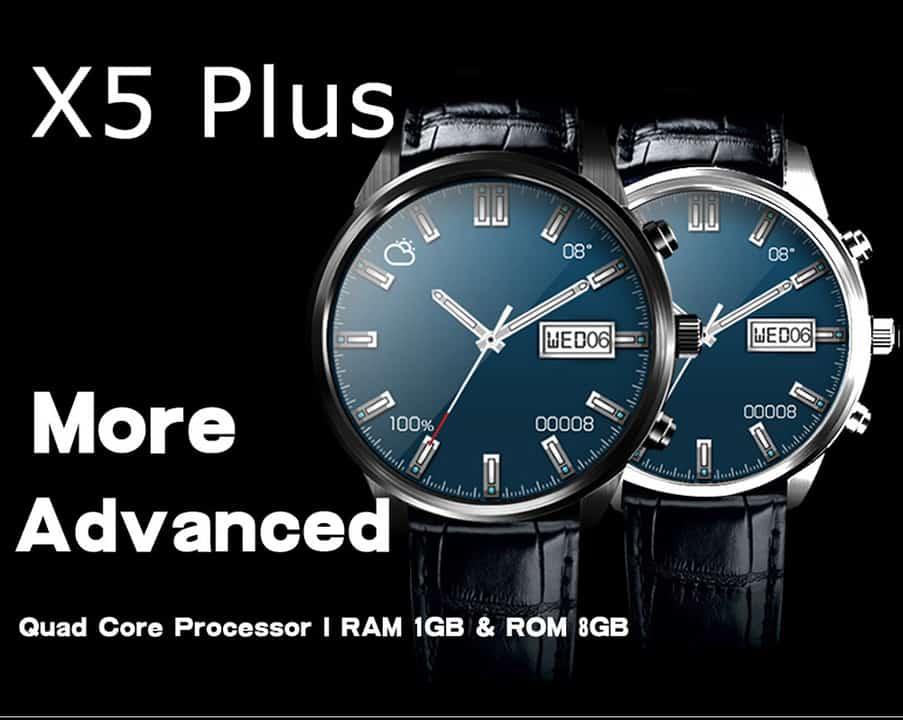 Oferta Smartwatch con Android FINOW X5 PLUS por 97 euros (Cupón descuento)