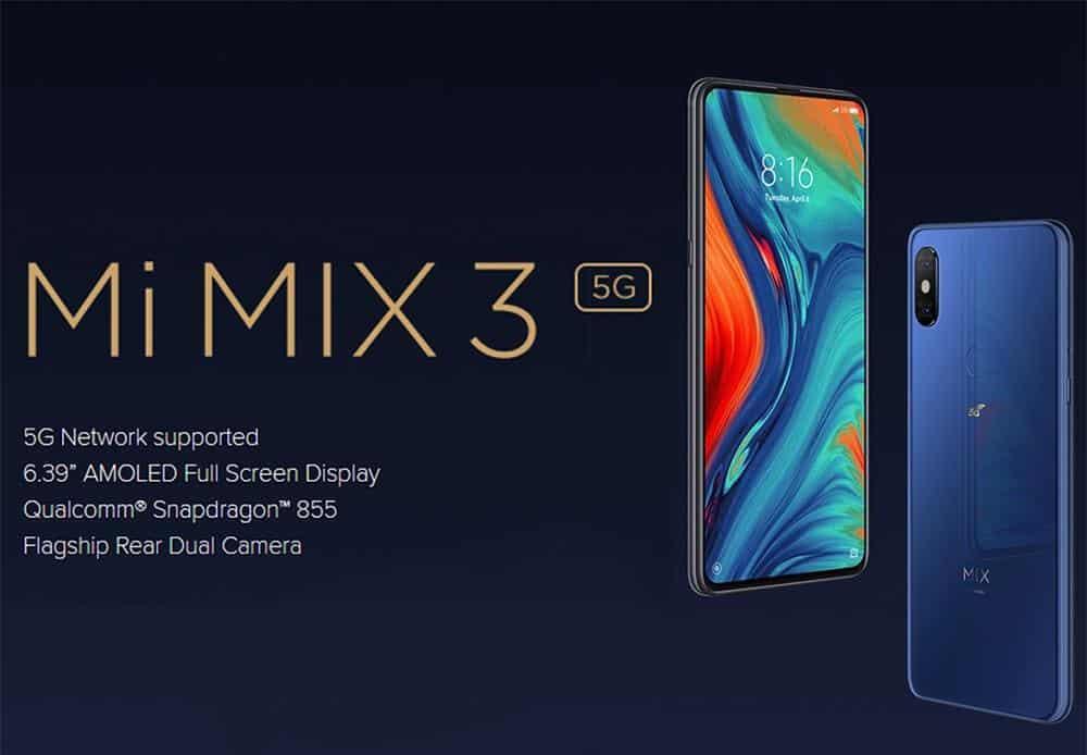 Xiaomi Mi Mix 3 5G 128GB de oferta por 316 euros (Cupón Descuento)