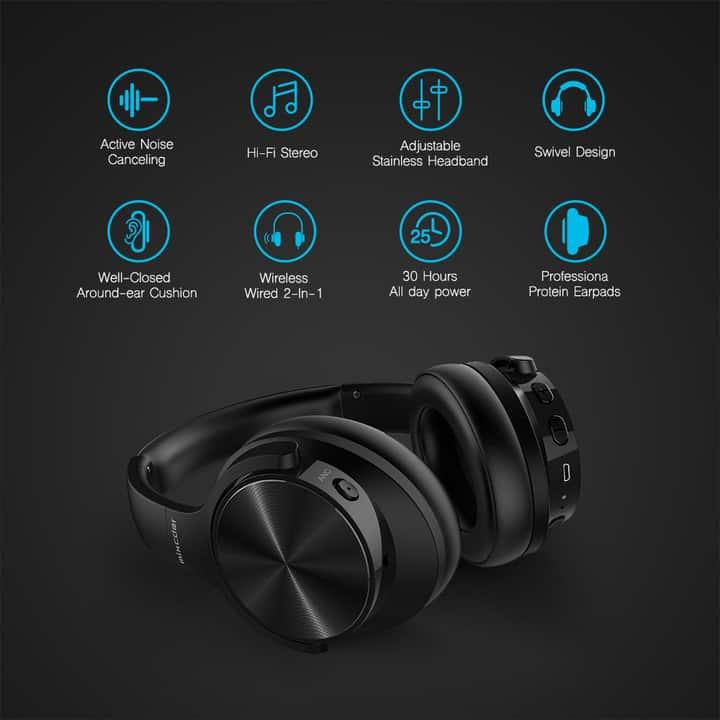 Chollo auriculares Mixcder E9 con cancelación activa de ruido por 36 euros
