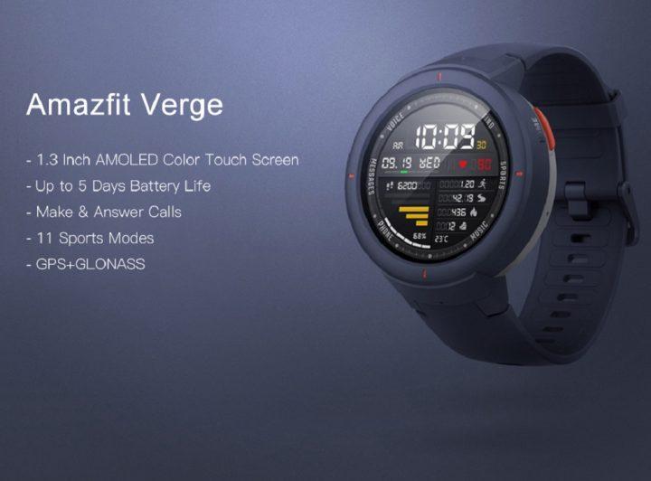 Xiaomi Amazfit Verge 3 comprar barato al precio minimo de oferta con cupón descuento. Con envío GRATIS Libre de aduanas para España.