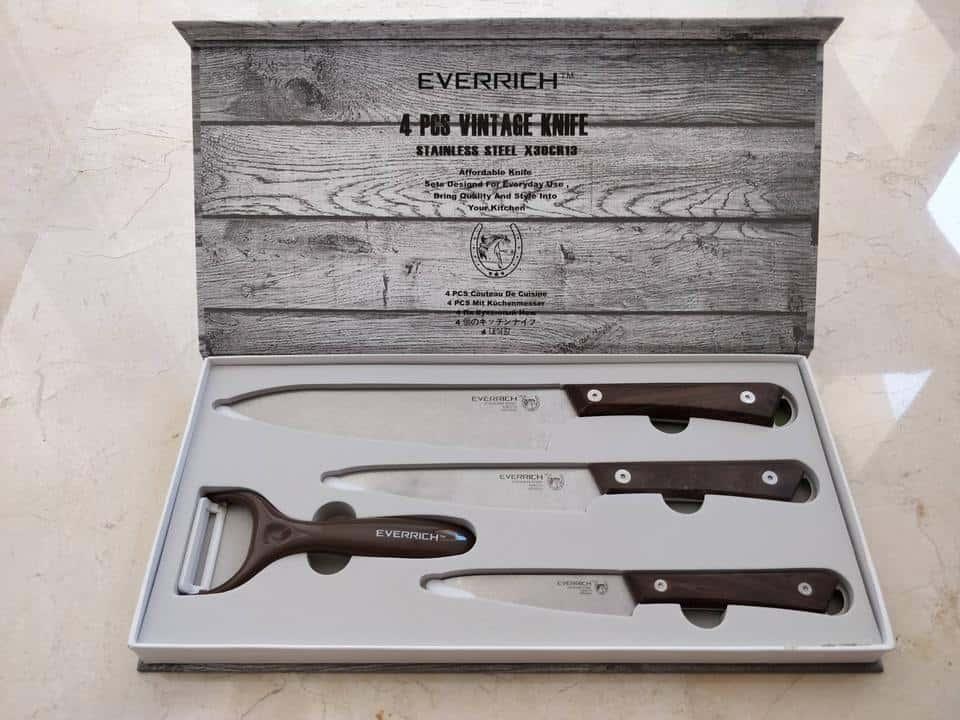 Oferta juego de cuchillos Homine por 17 euros (Cupón Descuento)