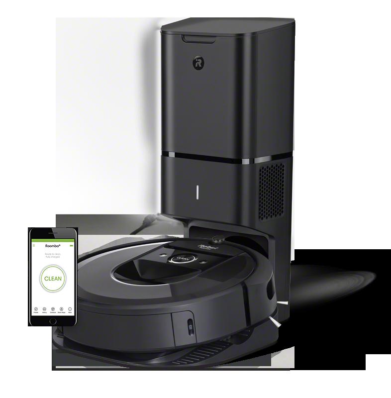 Chollo robot aspirador iRobot Roomba i7+ (i7558) por 849 euros (Oferta FLASH) 1 roomba i7+