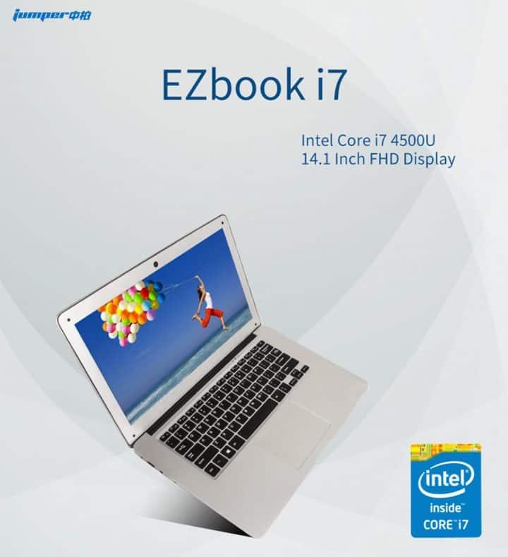 Oferta portátil Jumper Ezbook i7 por 390 euros (Oferta FLASH)