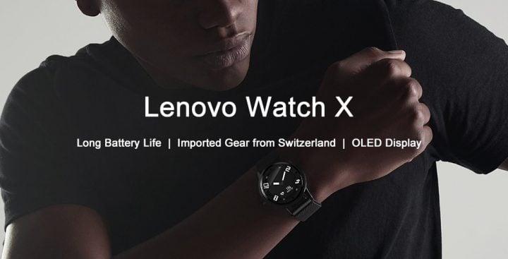 Oferta reloj inteligente Lenovo Watch X por 35 euros (Cupón Descuento)