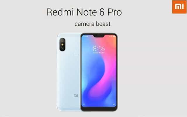 Xiaomi Redmi Note 6 PRO comprar barato al precio minimo de oferta con cupón descuento. Con envío GRATIS Libre de aduanas para España.