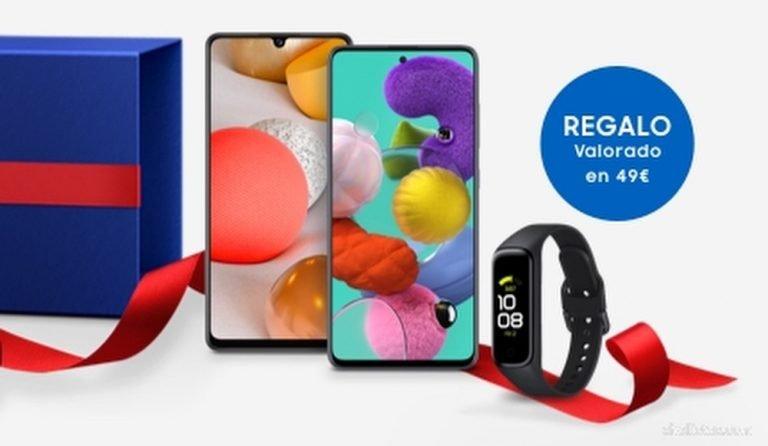 Compra tu Samsung Galaxy A y llévate de regalo un Galaxy Fit 2