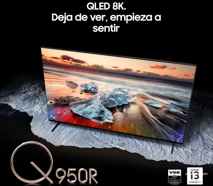 "TV Samsung QLED 8K 55"" de oferta"