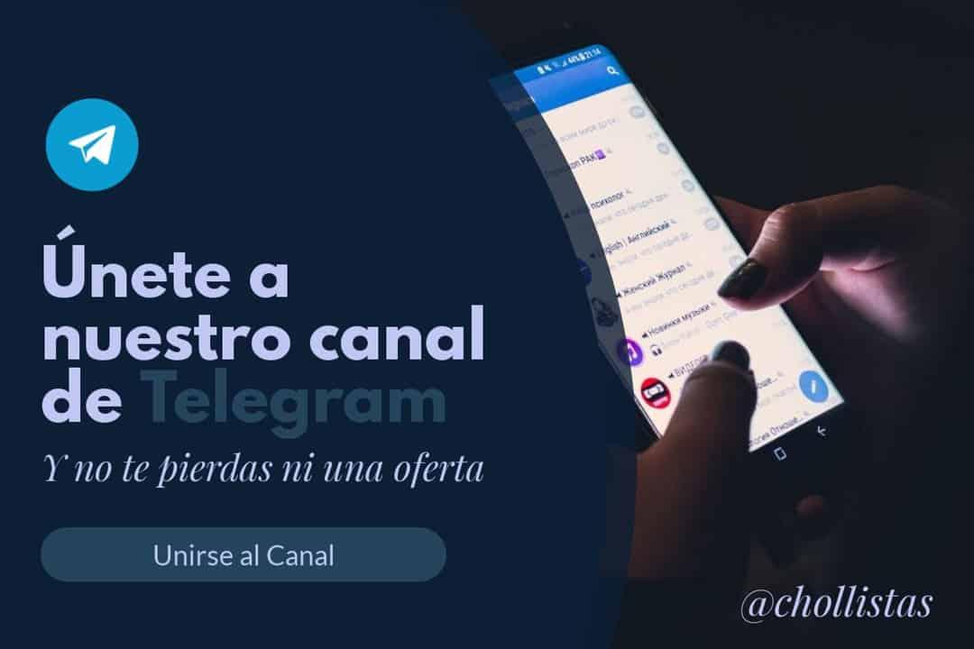 Telegram chollistas ofertas y cupones de descuento