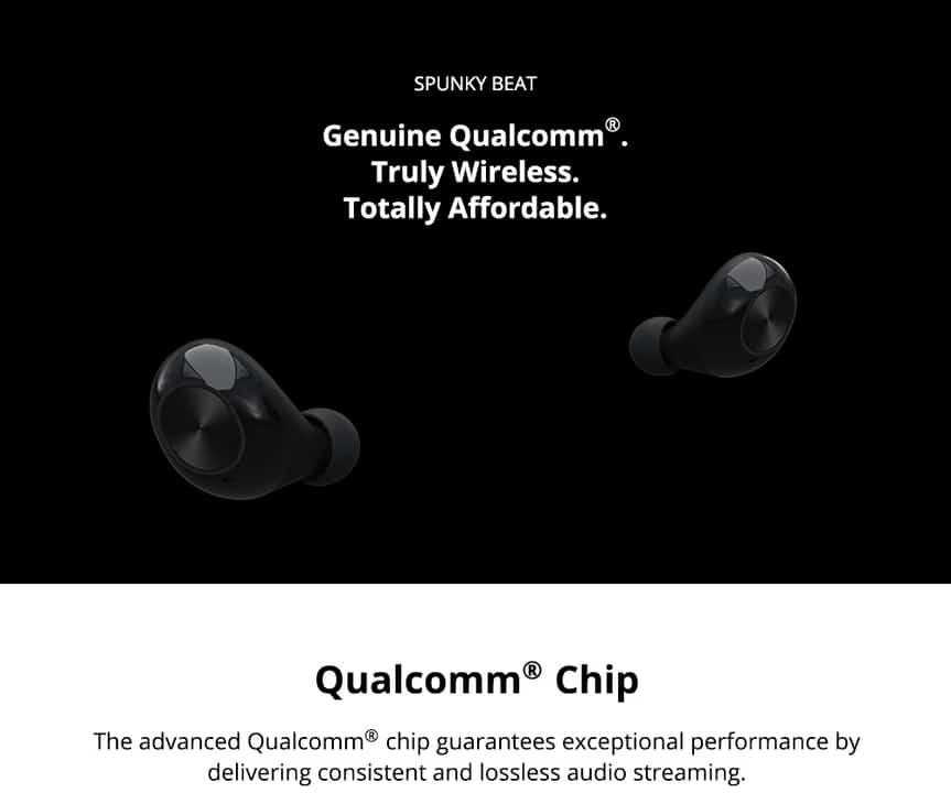 Oferta auriculares bluetooth 5.0 in ear Tronsmart Spunky Beat por 25 euros desde Italia (Cupón Descuento)