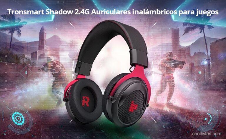 Chollo: auriculares gaming Tronsmart Shadow de oferta por 41 euros desde España (Cupón Descuento)