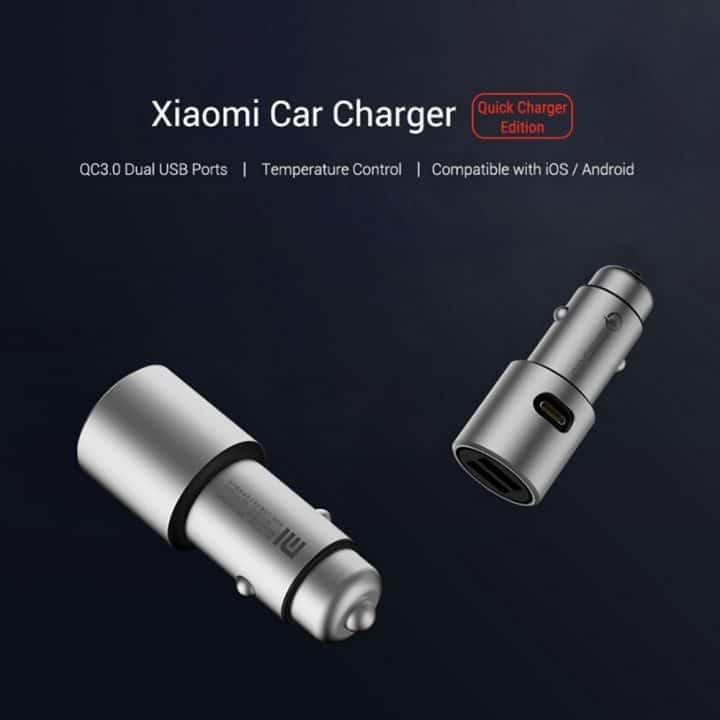 Oferta cargador Xiaomi USB para coche por 11 euros (Oferta FLASH)