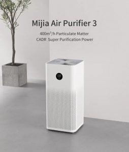 Oferta purificador Xiaomi Mi Air Purifier 3H por 102 euros desde España (Cupón Descuento)