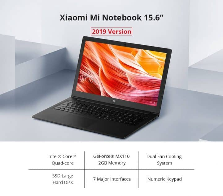 Xiaomi Mi Notebook Ruby comprar barato al precio minimo de oferta con cupón descuento. Con envío GRATIS Libre de aduanas para España.