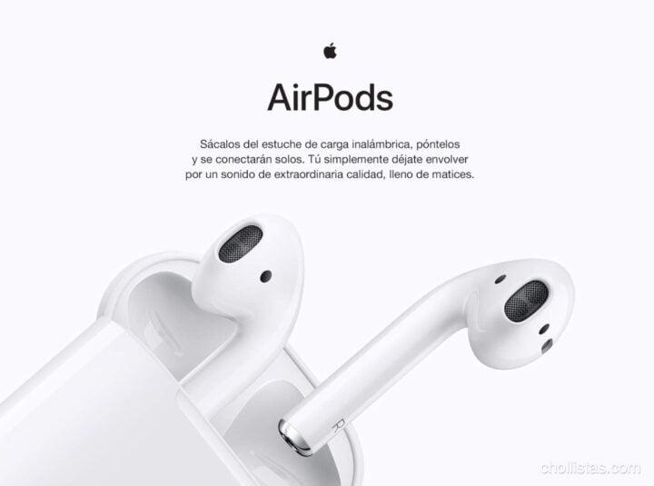 diferencias entre los Airpods 1 y 2