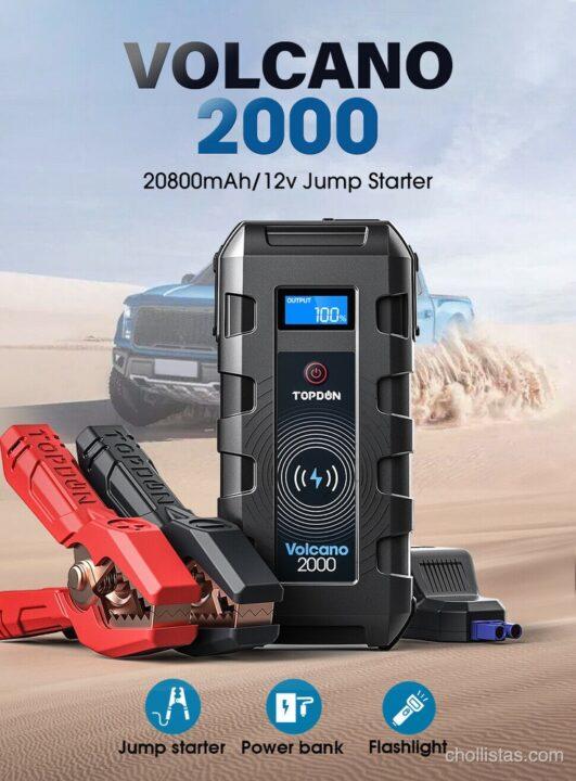 oferta arrancador de bateria TOPDON