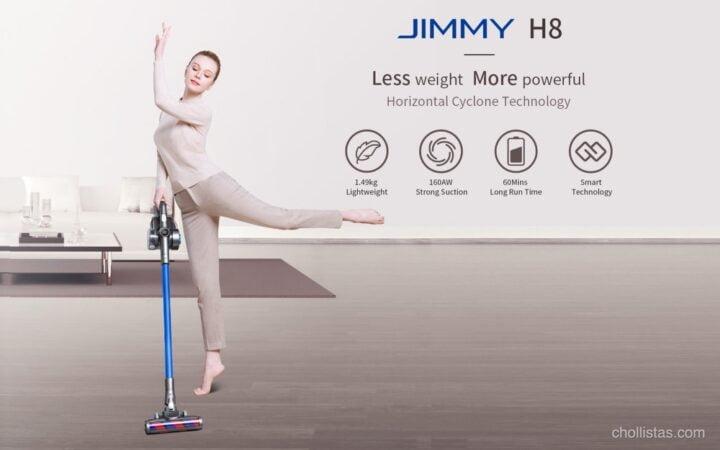 serie H de Jimmy (aspiradores Xiaomi)