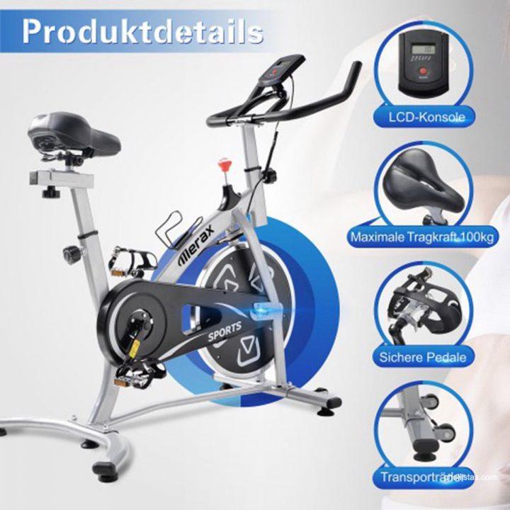 Bicicleta indoor Merax de oferta