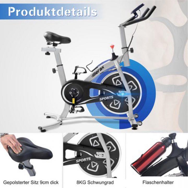 bicicleta indoor merax