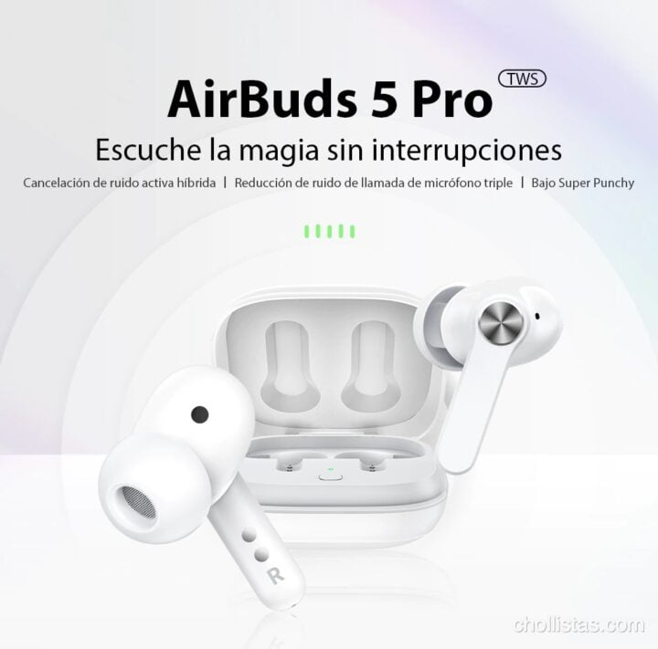 review y oferta Blackview AirBuds 5 Pro