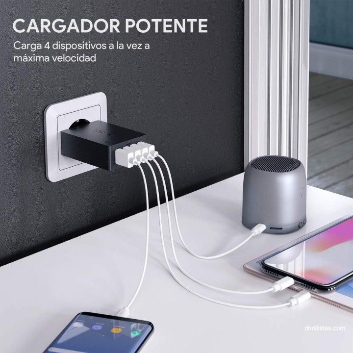 cargador USB AUKEY