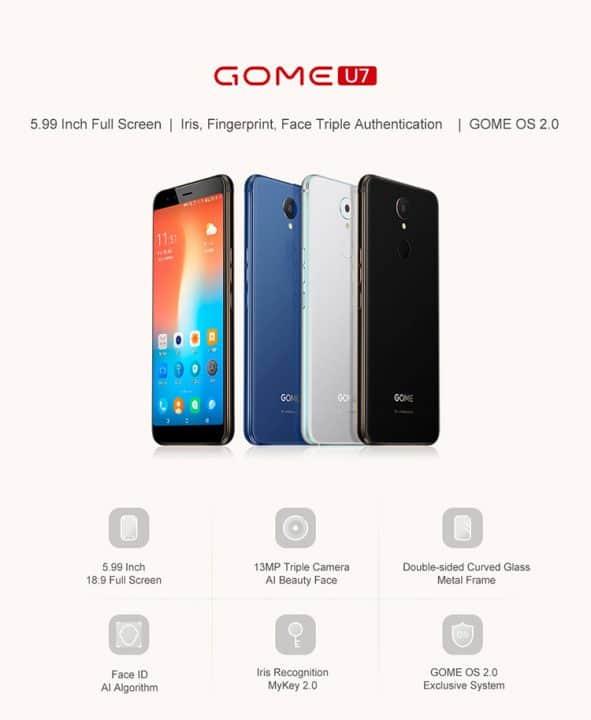Gome U7 comprar barato al precio minimo de oferta con cupón descuento. Con envío GRATIS Libre de aduanas para España.
