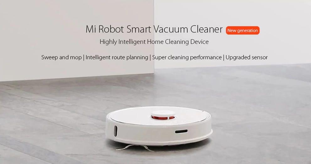 NOVEDAD: Oferta robot de limpieza Xiaomi Roborock S55 por 319 euros (Cupón Descuento)