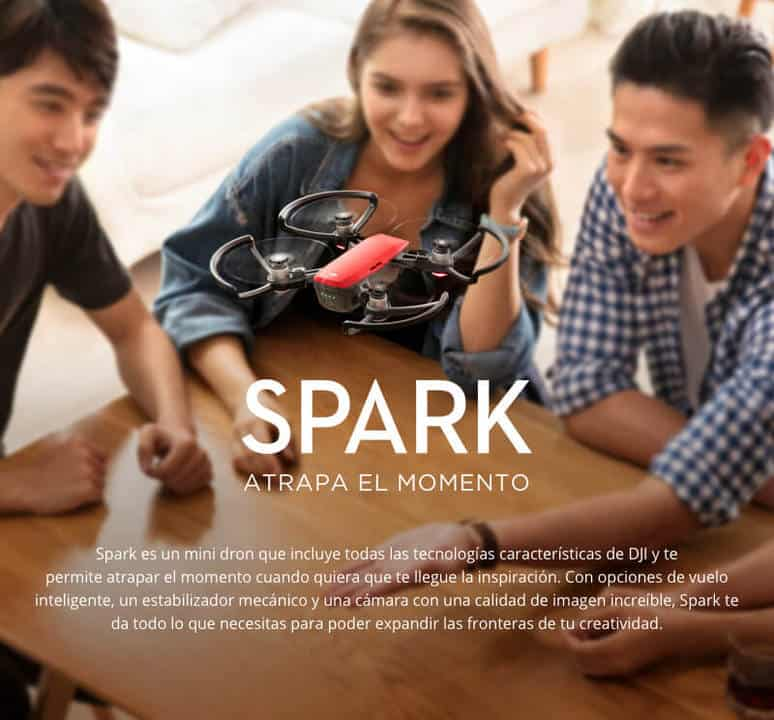 DJI Spark Mini comprar barato al precio minimo de oferta con cupón descuento. Con envío GRATIS Libre de aduanas para España.