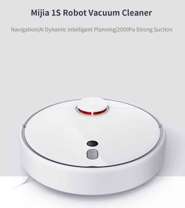 Chollo robot aspirador Xiaomi Mi Robot Vacuum Mijia 1S por 218 euros desde España