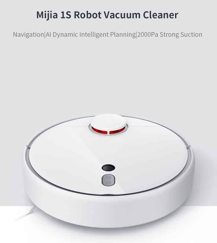 Chollo robot aspirador Xiaomi Mi Robot Vacuum 1S por 269 euros (Cupón Descuento)