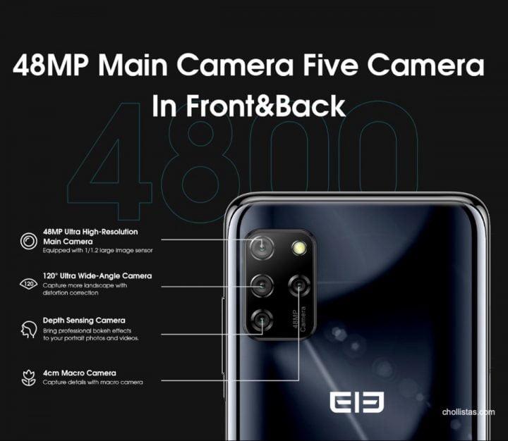 El Elephone E10 llega con una configuración de cámara cuádruple en la que el sensor principal tiene 48 megapíxeles por sólo 83 euros (cupón limitado) 3 elephone e10