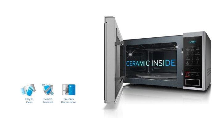 oferta microondas con grill Samsung