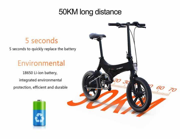Bicicleta eléctrica plegable ONEBOT S6 por 598 euros desde Europa (Cupón Descuento)