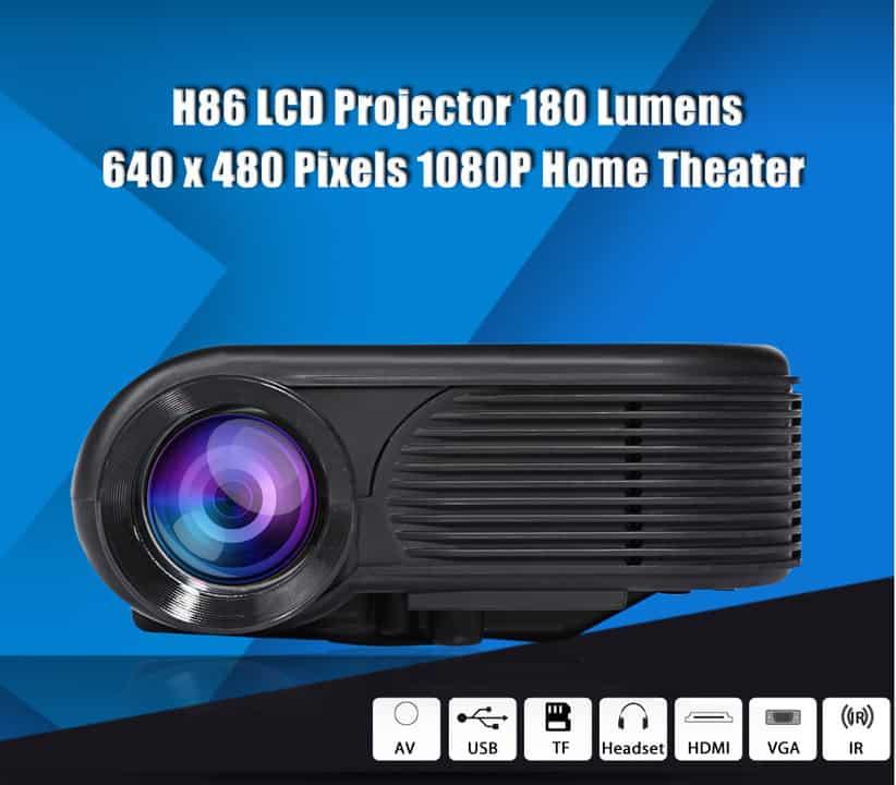 Oferta Proyector H86 1080P por 49 euros (20% dto.)