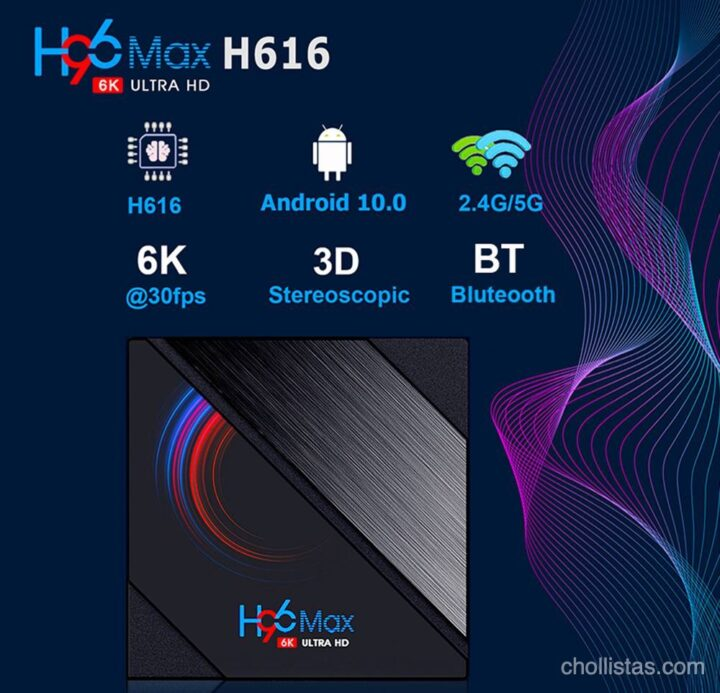 review TV Box Android H96 MAX H616